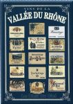 Chic Style French Metal Vallee du Rhone Wine Sign 30 x 40 cm